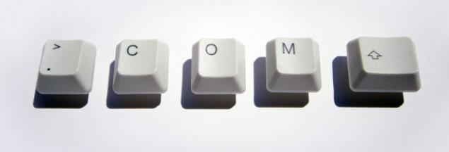 W domenie .com jest już ponad 141 milionów adresów