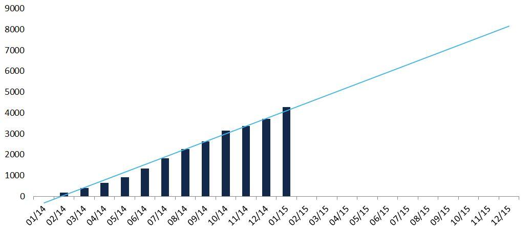 Afnic wzrost ntld na koniec 2015